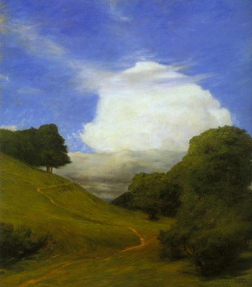 The Cloud 1895 | Prince Eugen | Oil Painting