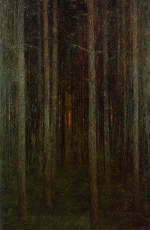 The Forest 1892 | Prince Eugen | Oil Painting