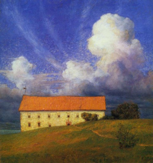 The Old Castle 1893 | Prince Eugen | Oil Painting