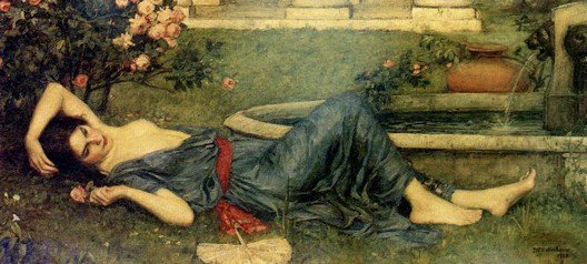 Sweet Summer | John William Waterhouse | Oil Painting