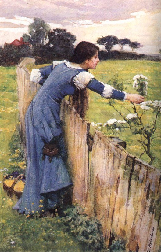The Flower Picker | John William Waterhouse | Oil Painting