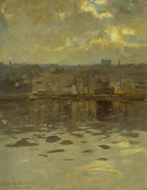 From Paris 1889 | Victor Westerholm | Oil Painting