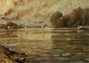 Suresnes 8 May 1890 | Victor Westerholm | Oil Painting