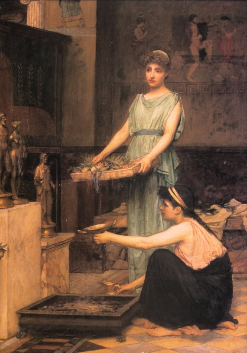 The Household Gods | John William Waterhouse | Oil Painting