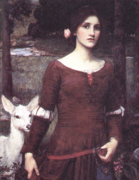 The Lady Clare | John William Waterhouse | Oil Painting