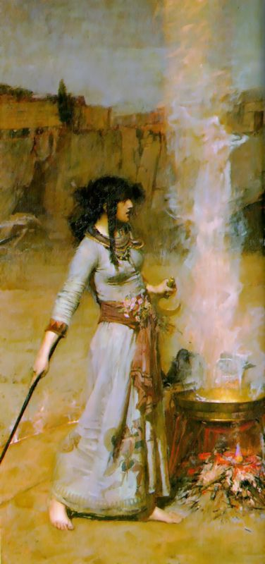 The Magic Circle | John William Waterhouse | Oil Painting