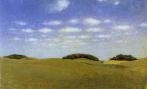 Landscape from Lejre 1905 | Vilhelm Hammershoi | Oil Painting