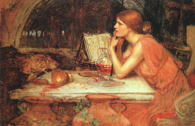 The Sorceress | John William Waterhouse | Oil Painting