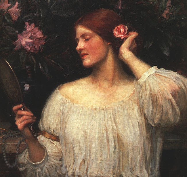 Vanity | John William Waterhouse | Oil Painting