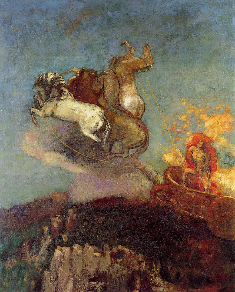 Apollo Chariot 1907-1908 | Odilon Redon | Oil Painting
