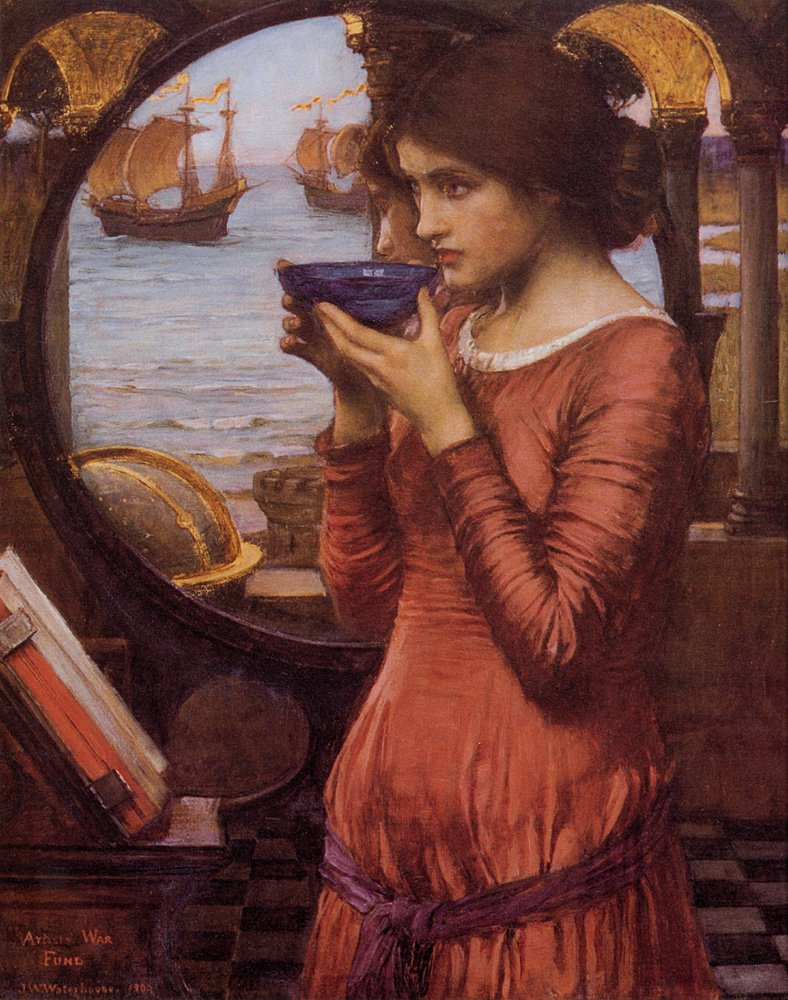 Destiny | John William Waterhouse | Oil Painting
