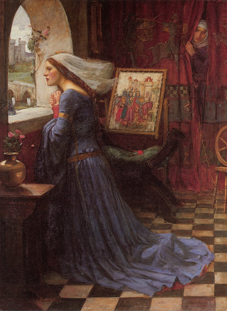 Fair Rosamund | John William Waterhouse | Oil Painting