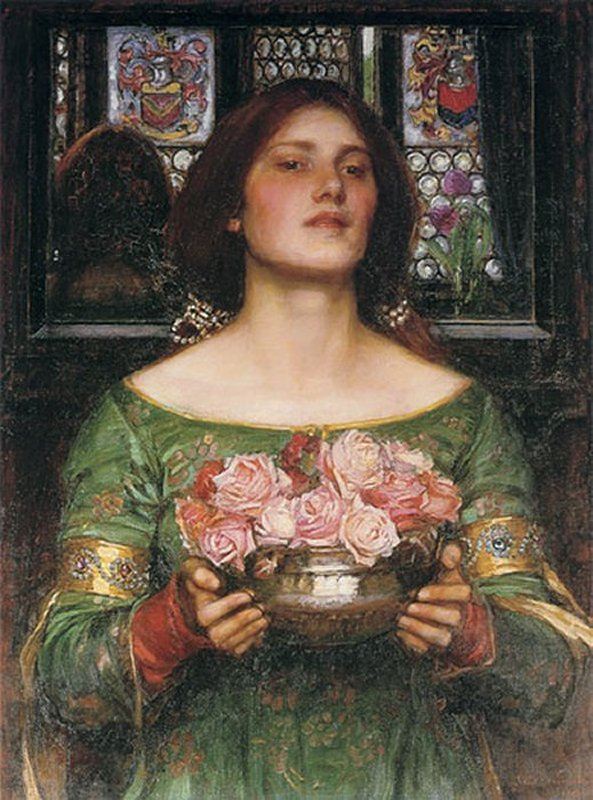 Gather Ye Rosebuds | John William Waterhouse | Oil Painting