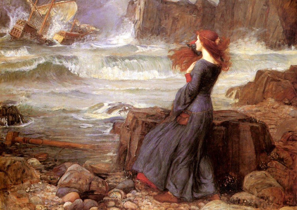 Miranda The Tempest | John William Waterhouse | Oil Painting