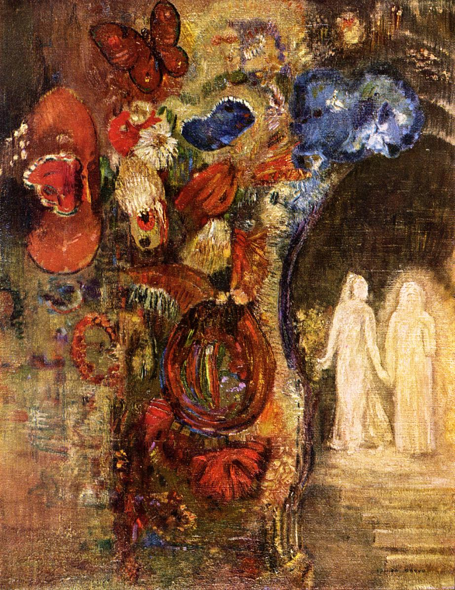 Apparition 1910 | Odilon Redon | Oil Painting