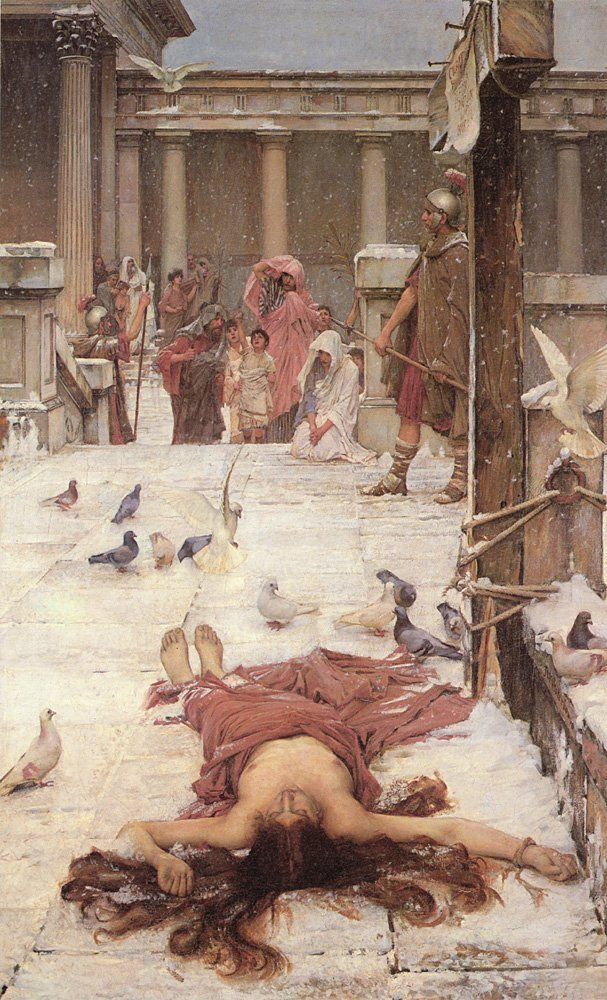 St Eulalia | John William Waterhouse | Oil Painting