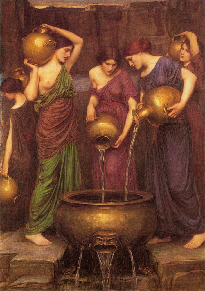 The Danaides | John William Waterhouse | Oil Painting