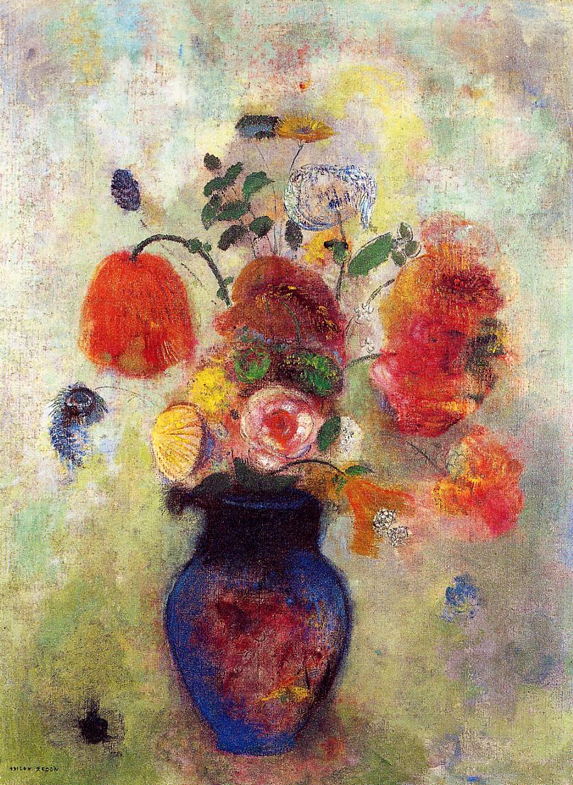Bouquet of Flowers 1912 | Odilon Redon | Oil Painting