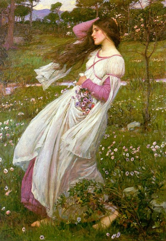 Windswept | John William Waterhouse | Oil Painting