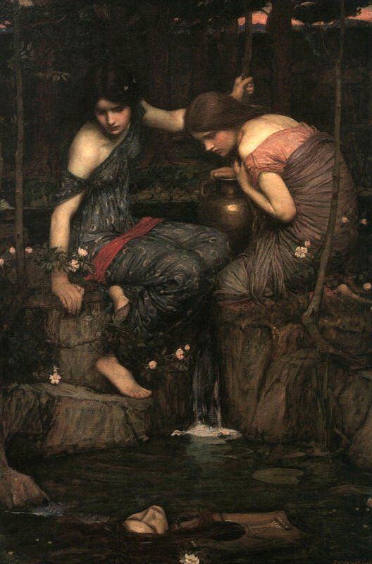 Women With Water Jugs | John William Waterhouse | Oil Painting