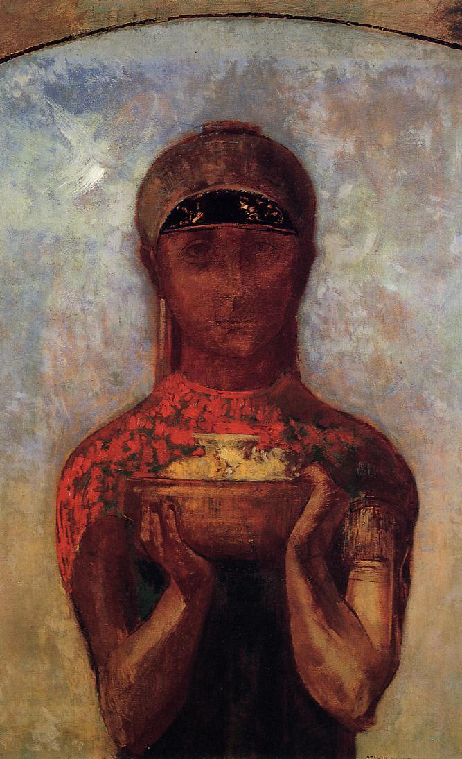 Chalice of Mystery 1890 | Odilon Redon | Oil Painting