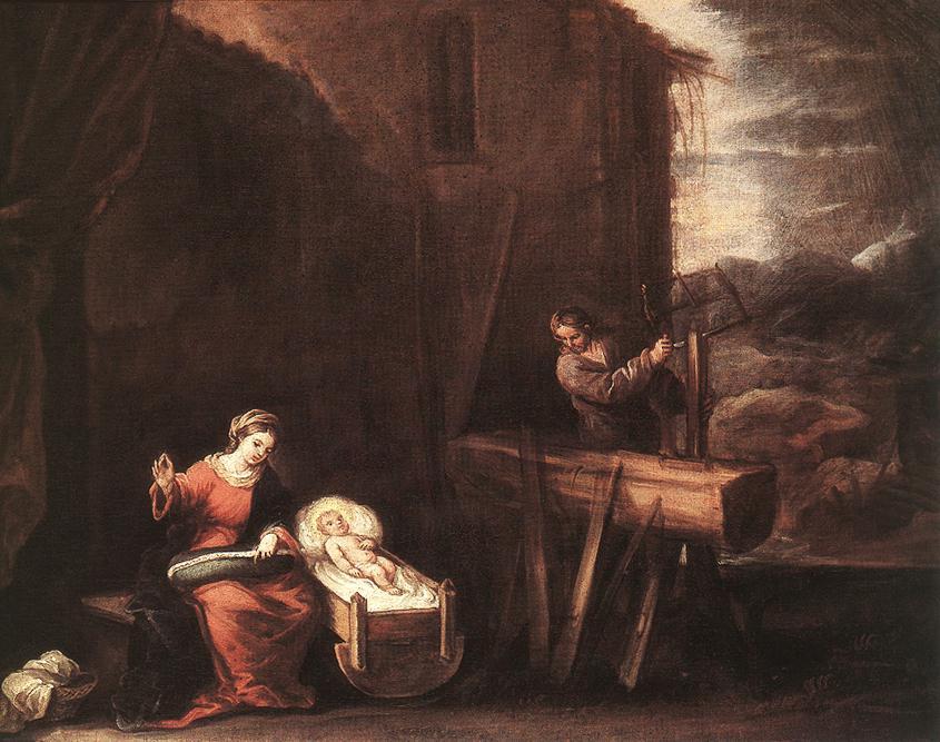 Holy Family   Jose Antolinez   Oil Painting