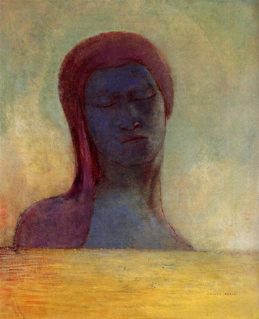 Closed Eyes 1894 | Odilon Redon | Oil Painting
