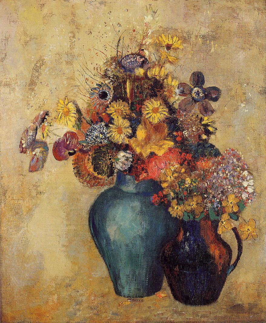 Flowers 1905 | Odilon Redon | Oil Painting