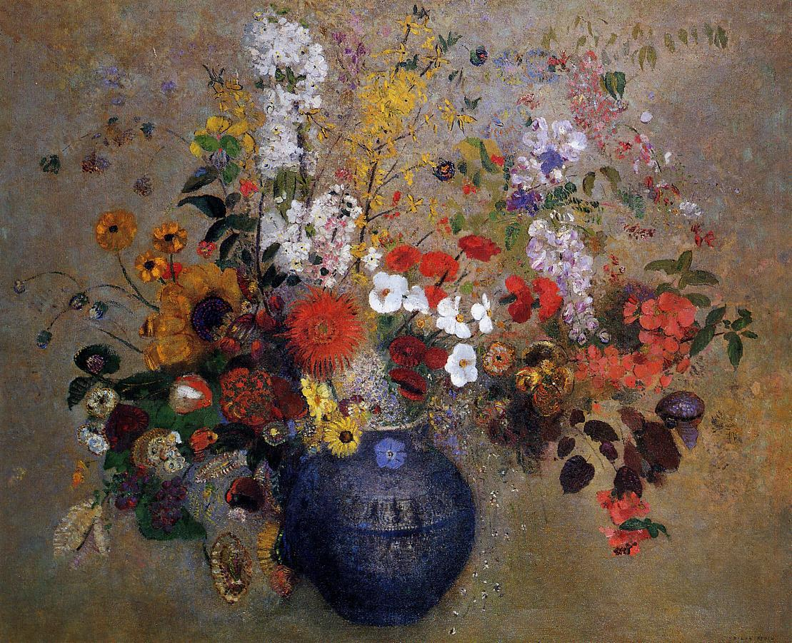 Flowers 1909 | Odilon Redon | Oil Painting