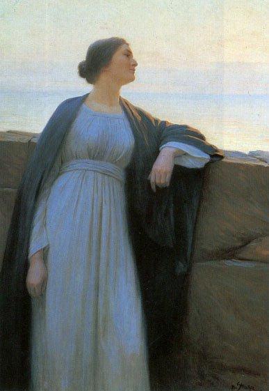 Evening Mood   Josef Straka   Oil Painting