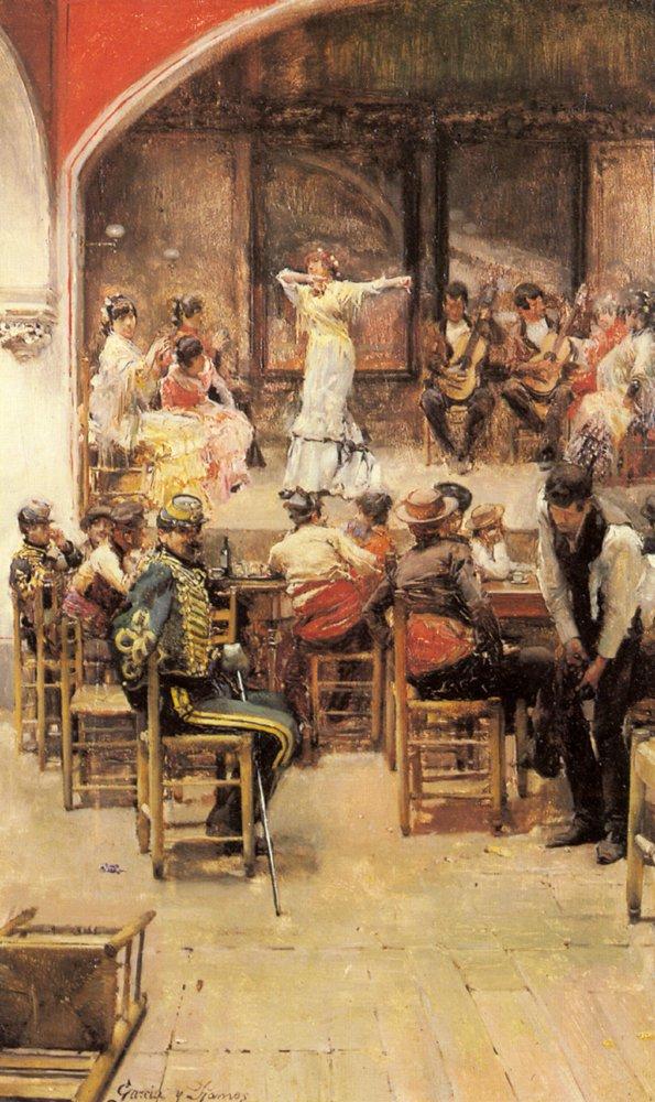 Spanish Cabaret | Jose Garcia y Ramos | Oil Painting