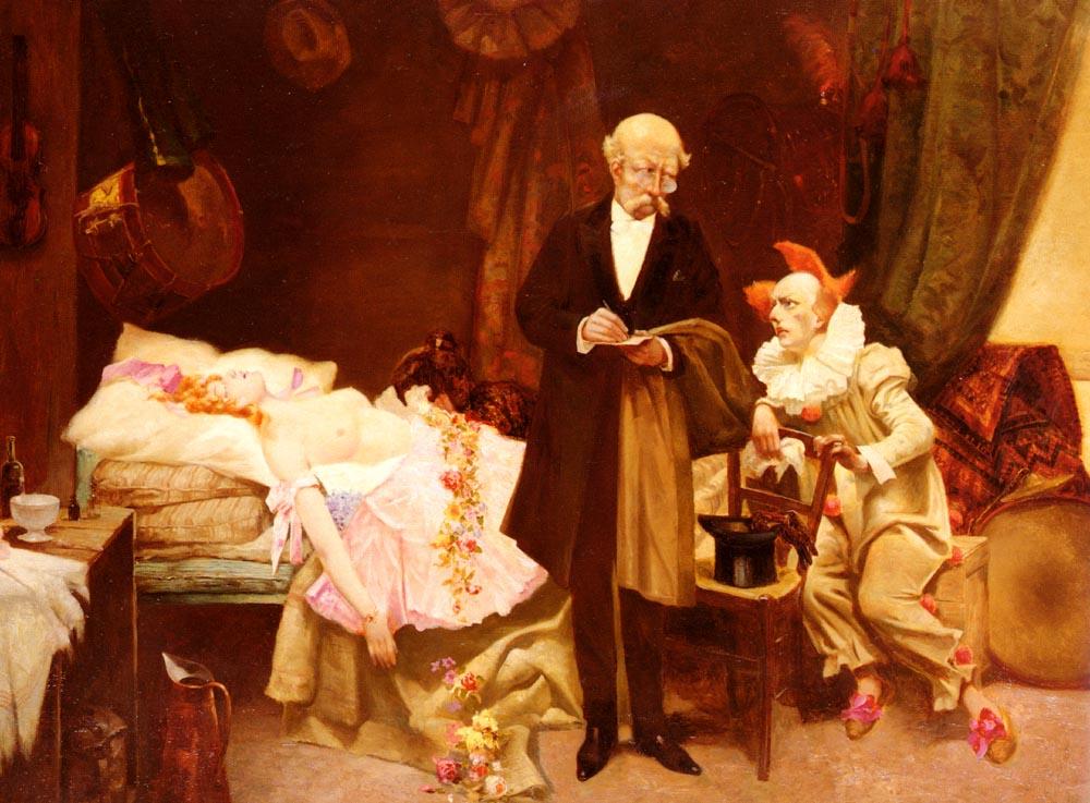 Columbine   Jose Miralle Darmanin   Oil Painting
