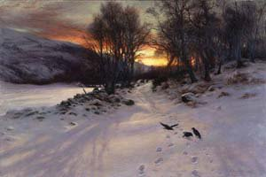A Winters Morning | Joseph Farquharson | Oil Painting