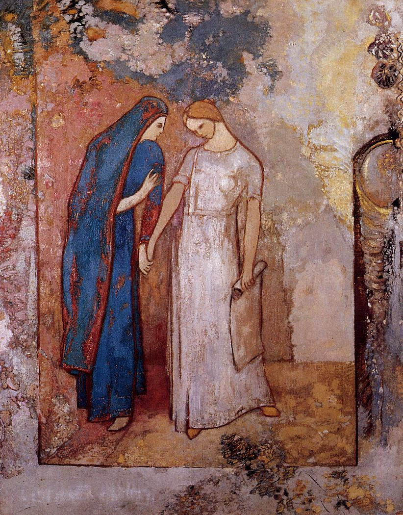 Initiation to Study 1905 | Odilon Redon | Oil Painting