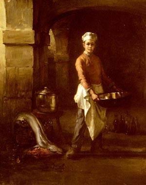 Le Marmiton | Joseph Bail | Oil Painting