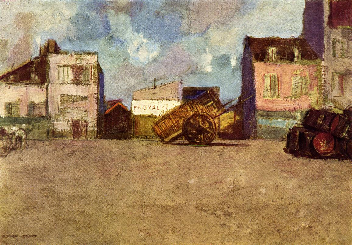 Near the Harbor Brittany 1880 | Odilon Redon | Oil Painting