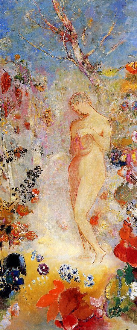Pandora 1914 | Odilon Redon | Oil Painting