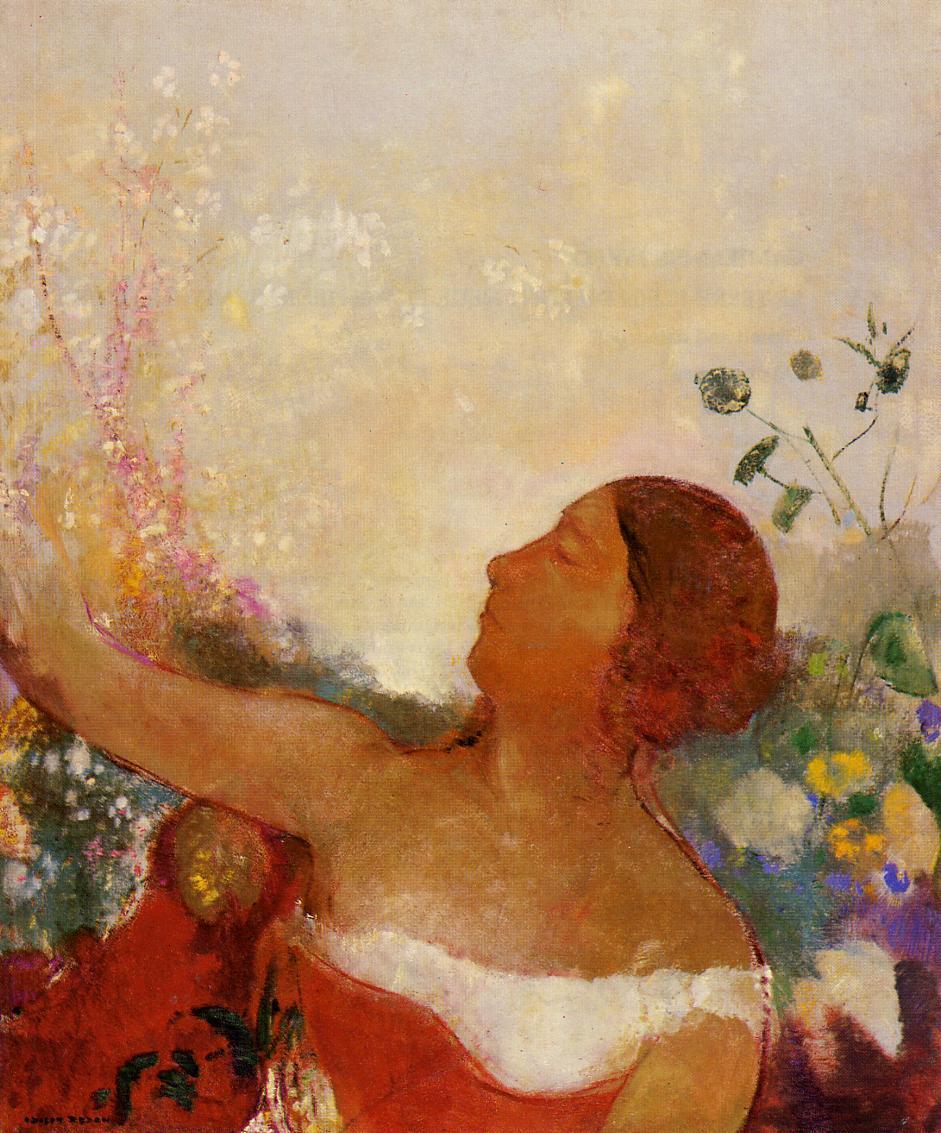 Predistined Child 1904-1905 | Odilon Redon | Oil Painting