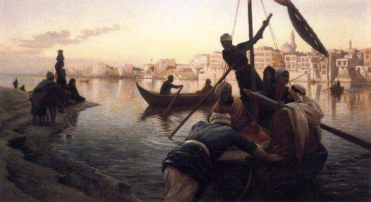 In Cairo | Joseph Farquharson | Oil Painting