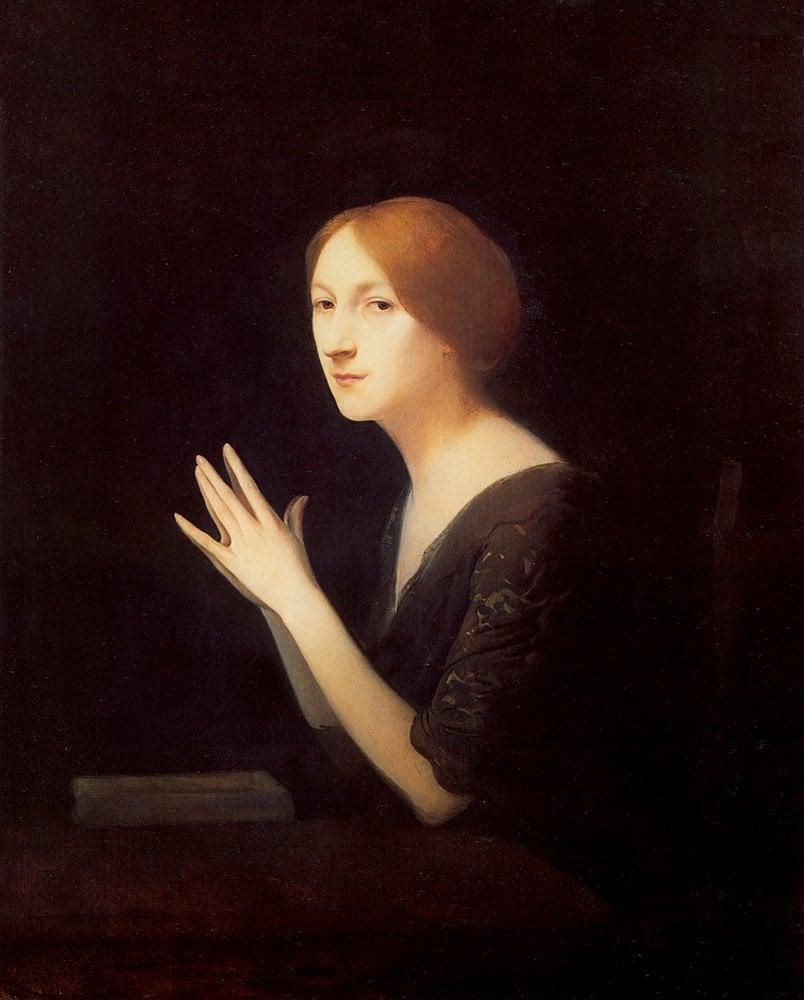 Marguerite Moreno | Joseph Granie | Oil Painting