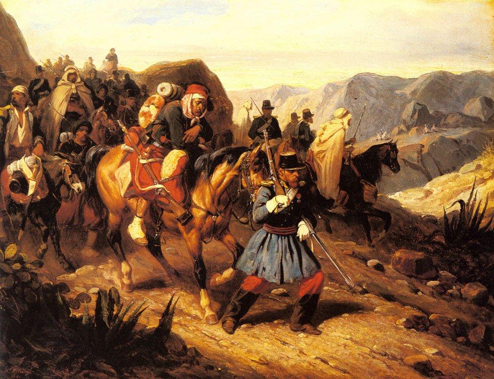 Returning From Battle | Joseph Louis Hippolyte Bellange | Oil Painting