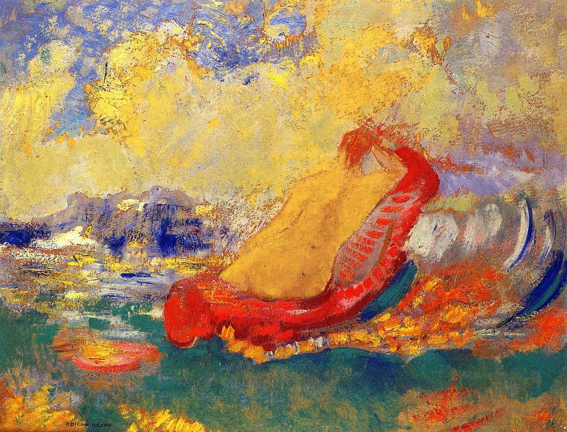 The Birth of Venus 1910 | Odilon Redon | Oil Painting