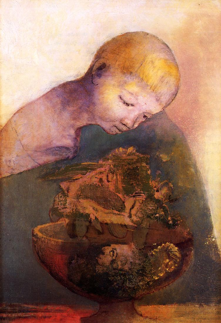 The Chalice of Becoming 1894 | Odilon Redon | Oil Painting
