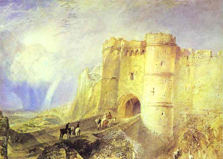 Carisbrook Castle Isle Of Wight 1828 Uk | Joseph Mallord William Turner | Oil Painting