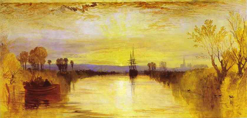 Chichester Canal 1828 | Joseph Mallord William Turner | Oil Painting