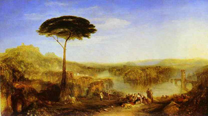 Childe Harolds Pilgrimage 1823 | Joseph Mallord William Turner | Oil Painting