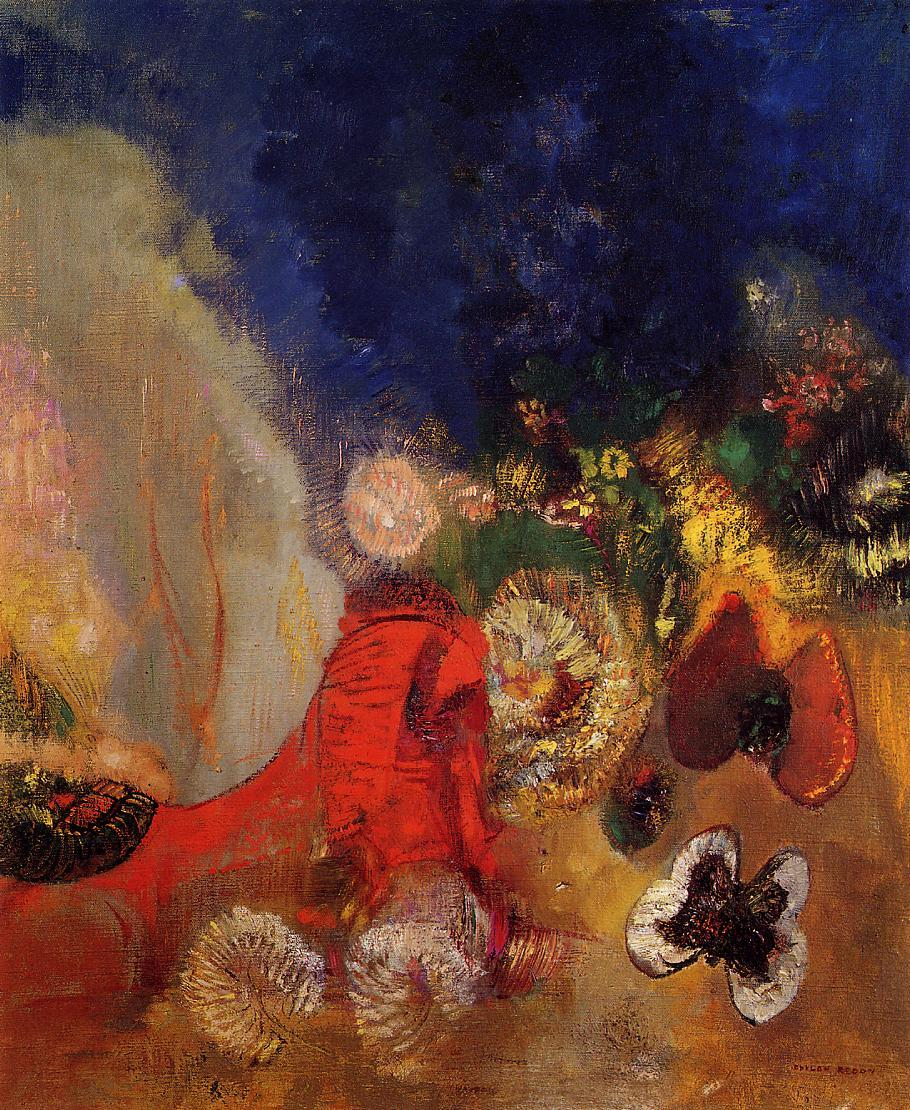 The Red Sphinx 1912 | Odilon Redon | Oil Painting