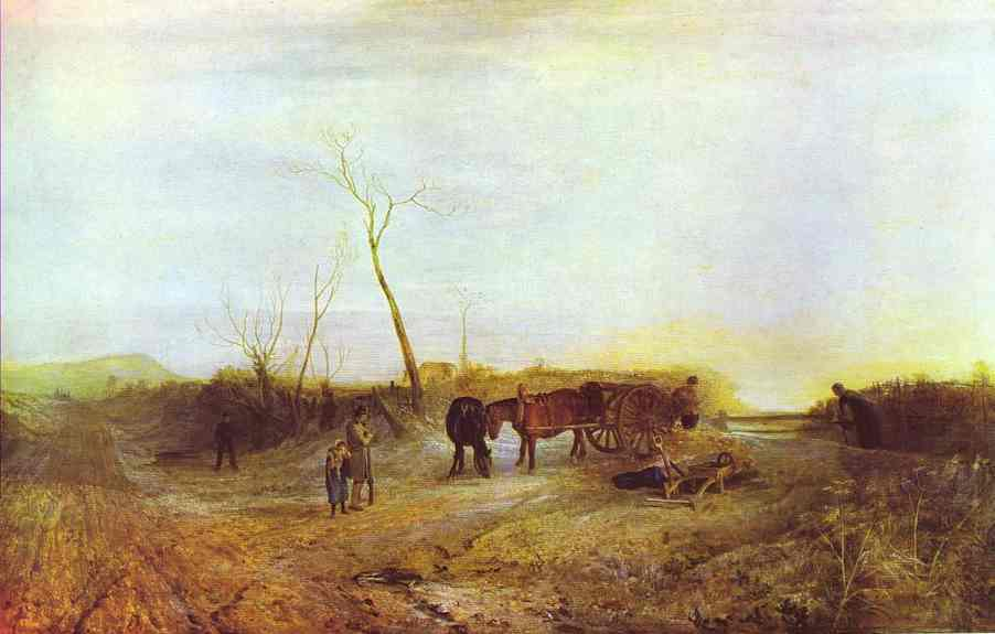 Frosty Morning 1813   Joseph Mallord William Turner   Oil Painting