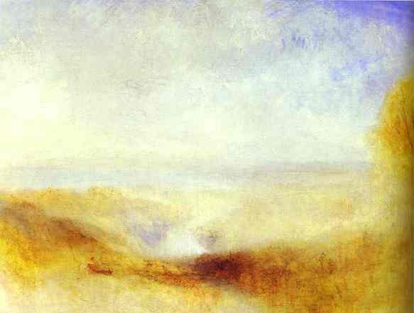 Landscape With A River And A Bay In The Background 1845   Joseph Mallord William Turner   Oil Painting