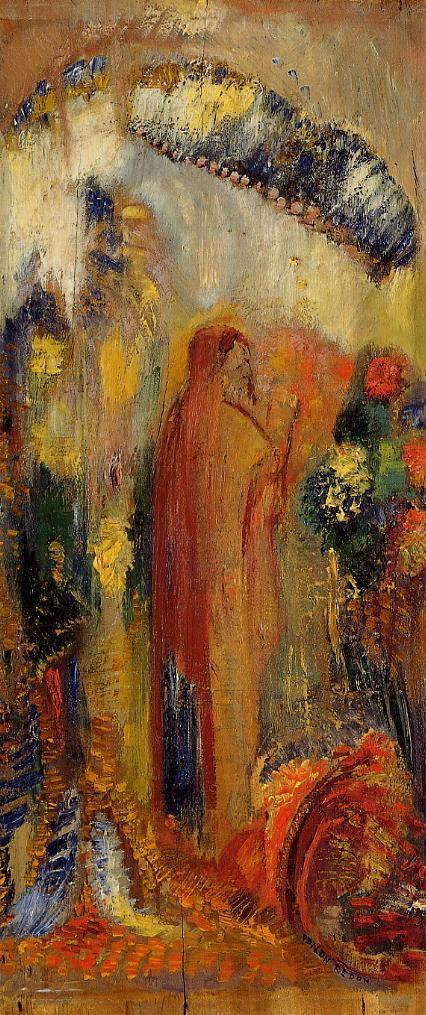 The Sermon | Odilon Redon | Oil Painting